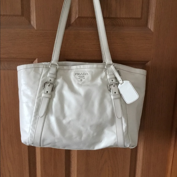 ec8ee096fabc 💕PRADA OFF WHITE LARGE TOTE💕. M 5ad657dc077b9731b84525d7. Other Bags ...